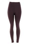 Docele Women's Regular & Plus Size Fleece Lined Leggings-One Size-Plus Size-Grey