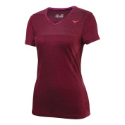 Mizuno 2014/15 Women's Breath Thermo Body Mapping Short Sleeve Running Top - 421344