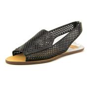 Dolce Vita Lisco Women US 6 Black Open Toe Slingback Sandal