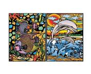 "Colorvelvet 32 x 26.5 x 4 cm A4 ""Dolphins"" Ring Binder"