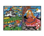 "Colorvelvet 32 x 26.5 x 4 cm A4 ""Princess"" Ring Binder"