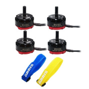 2 Pairs EMAX Cooling RS2205 RaceSpec KV2300 Brushless Motor for FPV 250 RC Quadcopter (2CW + 2CCW) Free ARRIS Straps