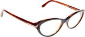 TOM FORD Eyeglasses FT5285 005 Black 53MM