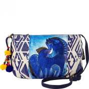 Laurel Burch Indigo Mares Crossbody