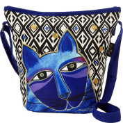 Laurel Burch Whiskered Cats Crossbody