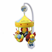 New Baby Musical Cot Mobile Toys with Soothing Soft Animals - Snail & Bees