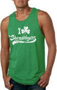 I Clover Shenanigans Tank Top Funny Sleeveless Tee for St. Patty's Day -S