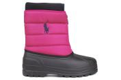 Polo Ralph Lauren Girl's Vancouver Zip Waterproof Snow Boot Shoes Raspberry Sz 6