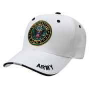 Rapiddominance Army Military Cap, White