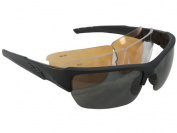 Wiley X Changeable Series WX Valour Sunglasses - Matte Black/Grey, Clear, Rust