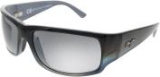 Maui Jim Unisex 'World Cup' Polarised Rectangle Sunglasses