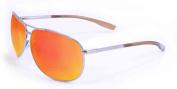 Maxx Sunglasses Gold Vision HD 9 Silver Frame HD Lens