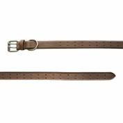 Belstaff Men's Leather Dane Belt 95cm Black Brown