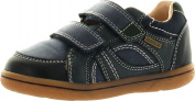 Geox Boys Flick B.K. Casual Everyday Fashion Velcro Shoes,Dark Navy,27