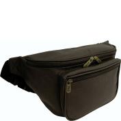 AmeriLeather Jumbo Size Leather Fanny Pack