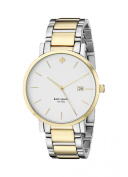 kate spade new york Watch, Women's Gramercy Two-Tone Stainless Steel Bracelet 38mm 1YRU0108