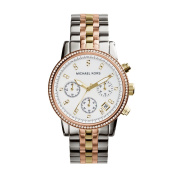 Michael Kors Women's MK5650 Ritz Tri-colour Chronograph Watch
