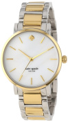 Kate Spade New York Women's 1YRU0005 'Gramercy' Two Tone Stainless Steel Watch