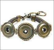 Ginger Snaps AB 3-Snap Multi Chain Bracelet SN90-45