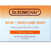 Dr Somchai Acne Skin Care Soap 80g - For Oily Skin