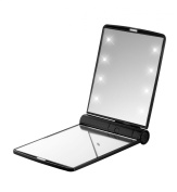 FLO Celebrity 2X Magnification LED Mirror, Black