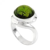 Kameleon Jewellery Sterling Silver Ring Scroll Top KR11 Size 7