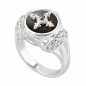 Kameleon Jewellery Sterling Silver Saddle Ring KR0042 Size 7
