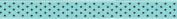 Grosgrain Pin Dot Ribbon 1.6cm X2.7m-Ocean & Brown