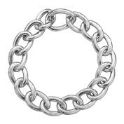 Chain Link Bracelet in Sterling Silver