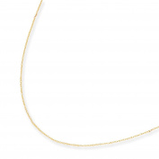 14k Rope Child Chain - 33cm - JewelryWeb