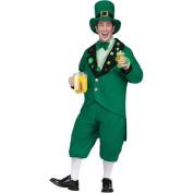 FunWorld Costumes Men's Pub Crawl Leprechaun Adult Costume, Standard One-Size, Green