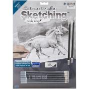 Sketching Made Easy Kit 23cm x 30cm -Running Free
