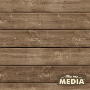 Mix The Media Wooden Plank Plaque, 30cm x 12