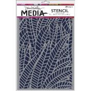 Dina Wakley Media Stencils 15cm x 23cm -Jungle
