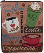 iPad Case - Coffee Break - Needlepoint Kit
