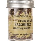 Stampendous Seasonings Embossing Enamel, .1860ml, Chunky Metallic