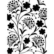 Embossing Folder 4.25inX5.190cm -Dandelion