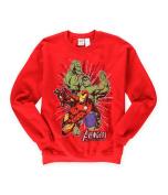 Marvel Comics Mens Avengers Assemble Sweatshirt red S