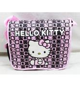Messenger Bag - Hello Kitty - Black Box Checker New School Book Bag 82351