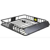 Universal Roof Rack Cargo Car Top Luggage Carrier Basket Travelling SUV Holder