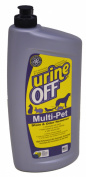 Urine Off Multi-Pet 950ml Oval Bottle W/Carpet Injector Cap