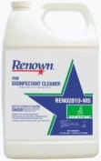Pine Disinfectant Clnr 4Gl/Cs 107450 Renown Disinfectants 107450 741224028103