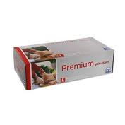 Royal Premium Disposable Poly Gloves, Small, 500 Ct