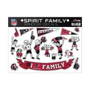 NFL Houston Texans Spirit Family Window Decals