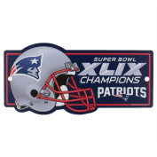 New England Patriots Official NFL 28cm x 43cm Super Bowl 49 Champions Reserved Parking Sign by Wincraft