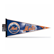 Rico Industries PNTH5801-H Pennant 12 x 30 - New York Mets