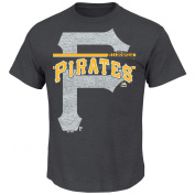 Majestic Athletic Men's Pittsburgh Pirates Rise To Victory Short-Sleeve T-Shirt