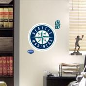 MLB Seattle Mariners Fathead Logo Decal