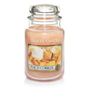 Yankee Candle Peach Cobbler Large Jar Candle