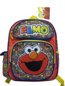 Small Backpack - Sesame Street - Elmo 30cm School Bag New 097671